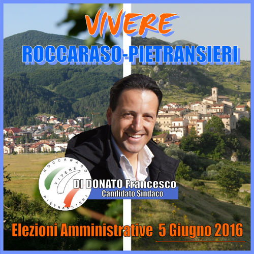 Programma Elettorale 2016 - Vivere Roccaraso-Pietransieri