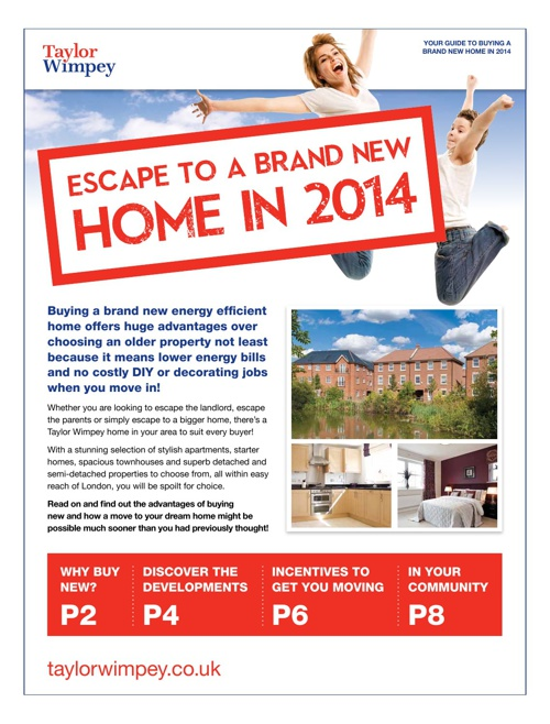 Escape to a Brand New Home in 2014