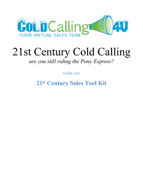 Cold Calling 4 U Thanks the Sales Team at Business Control Syste