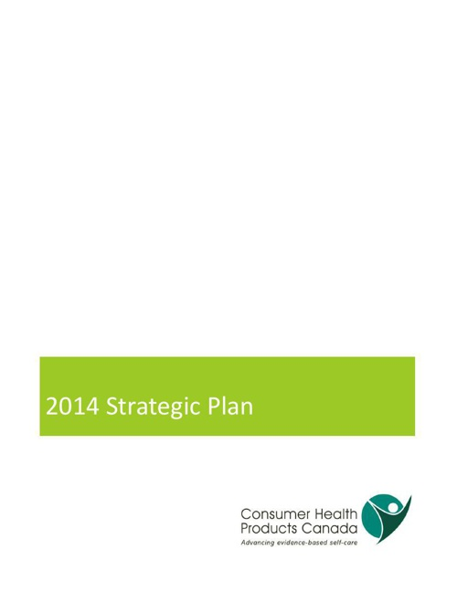 2014 -2015 Strategic Plan