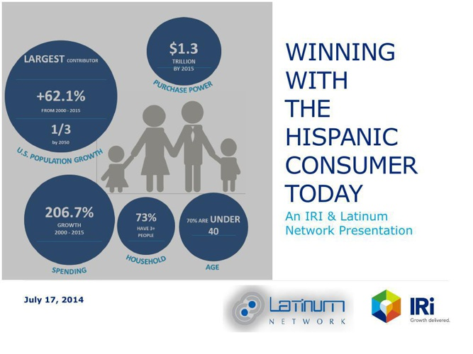 Winning with the Hispanic Consumer Today- IRI+Latinum Network Pr