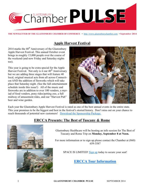 Chamber Newsletter - September 2014