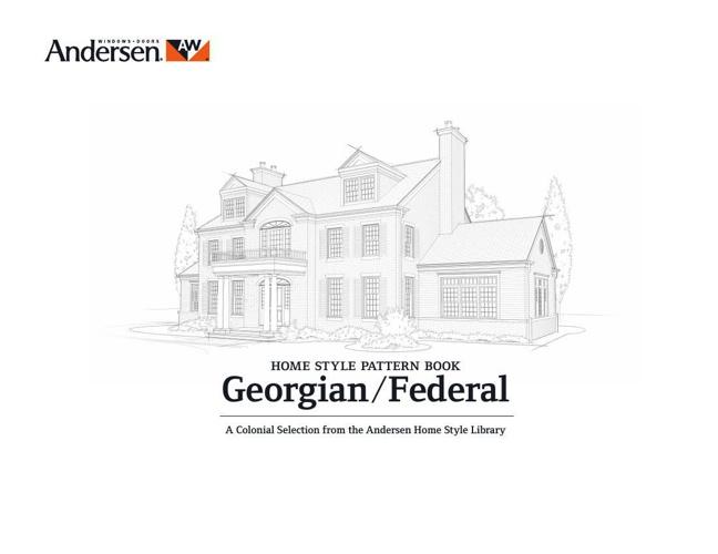 Georgian Federal Home Style