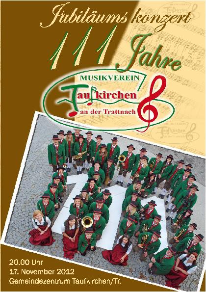 Konzertprogramm 2012 MV-Taufkirchen