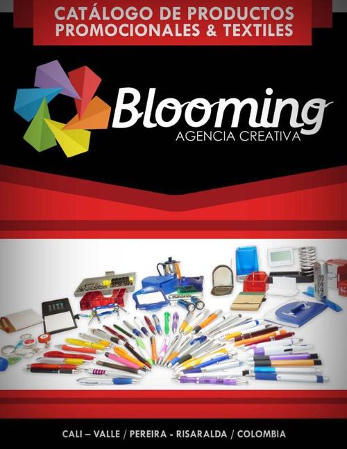 Portafolio Productos Promocionales y textiles-Blooming Agencia C