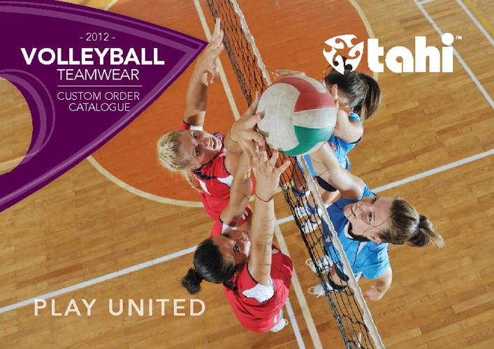 Tahi Volleyball Catalogue