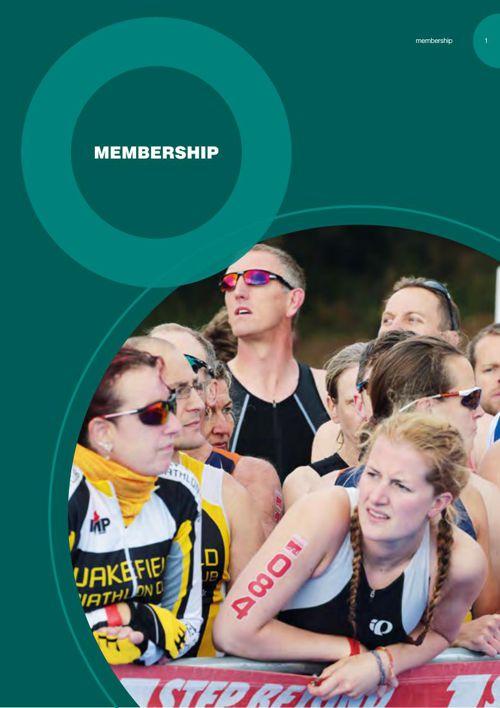 British Triathlon Handbook 2015 - Membership