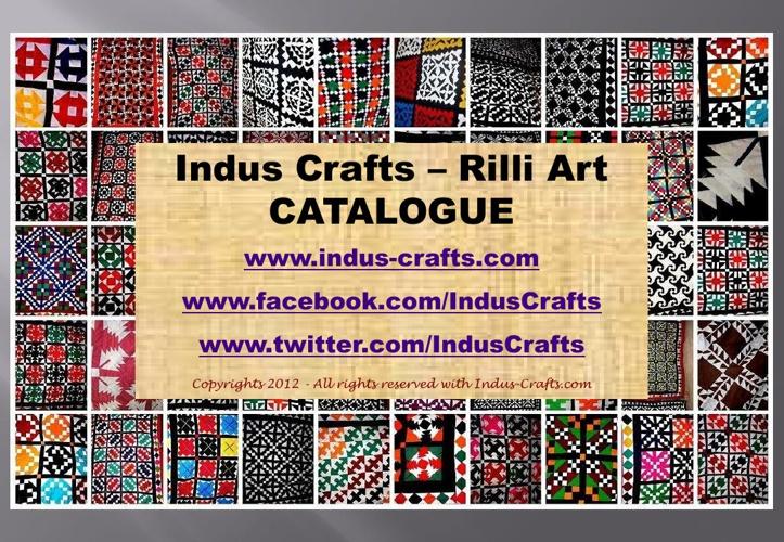 Rilli Art Catalogue