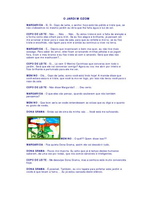 História para video aula