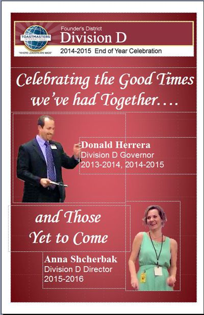"""Division D """"End of Year"""" Celebration"""