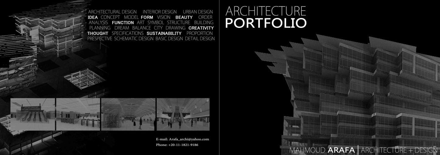 Book Cover Design Architecture : Portfolio architecture by mahmoudarafa flipsnack