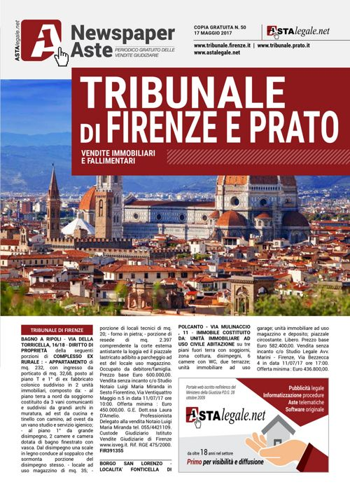 Firenze Prato 17 maggio 2017
