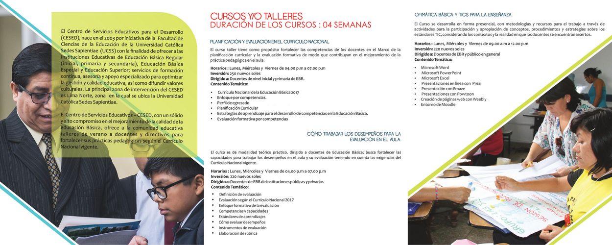 CURSOS DE ACTUALIZACIÓN DOCENTES