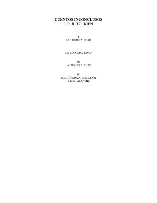 Tolkien, J R R