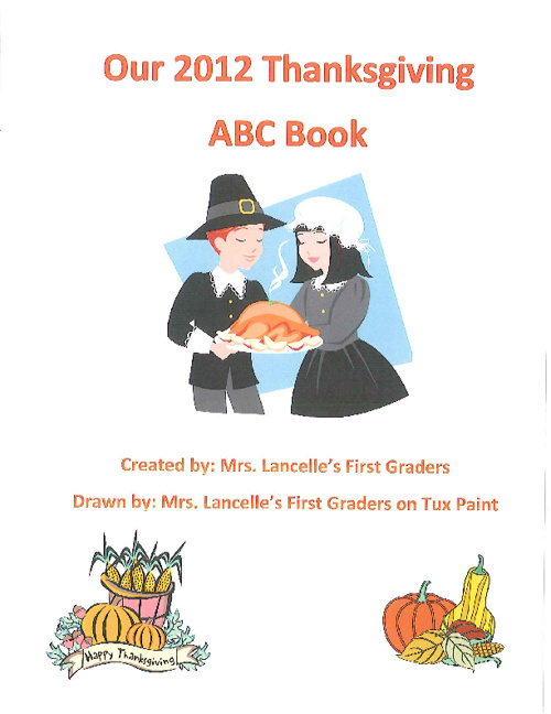 ABC Thanksgiving Book
