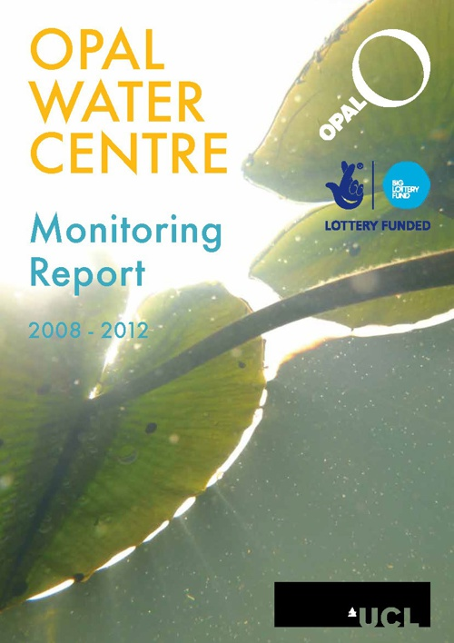OPAL Water Centre monitoring report 2008-2012