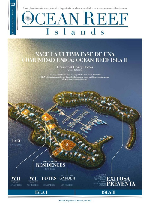 Ocean Reef Islands - [Newsletter # 22]