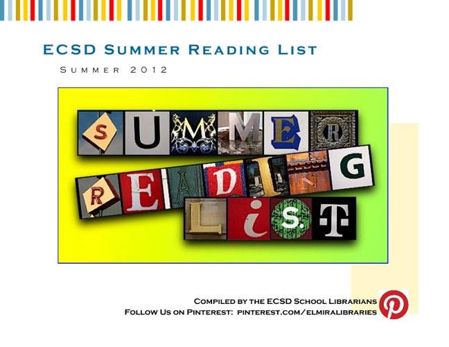 Summer Reading  2012