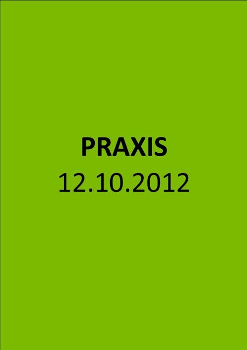 PHSt Schulpraxis Federschachtel 2012/2013