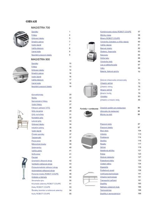 Interaktivní katalog GASTROSUN