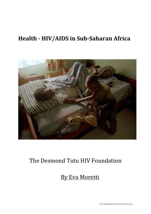 HIV/AIDS in Sub-Saharan Africa