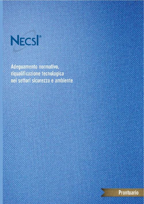 Adeguamento normativo, riqualificazione tecnologica
