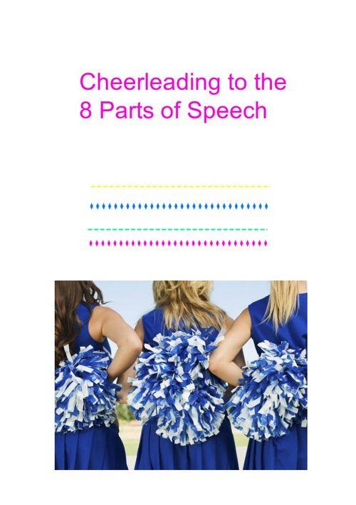 Cheerleading 8 parts of speech