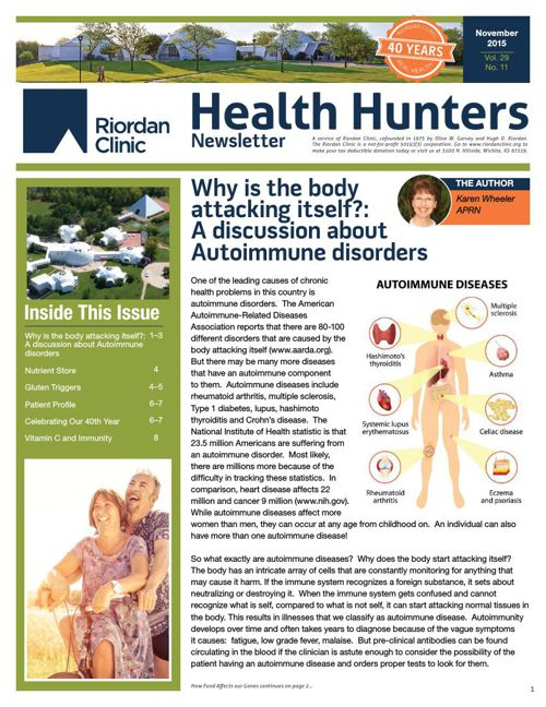 Health Hunters - Nov '15