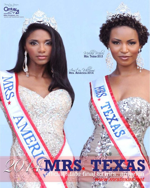 2014 Mrs. Texas Program Book