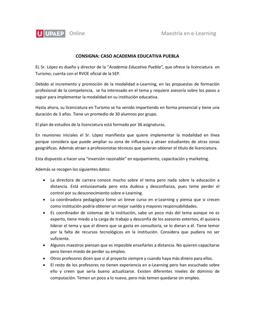 CONSULTORÍA EN E-LEARNING