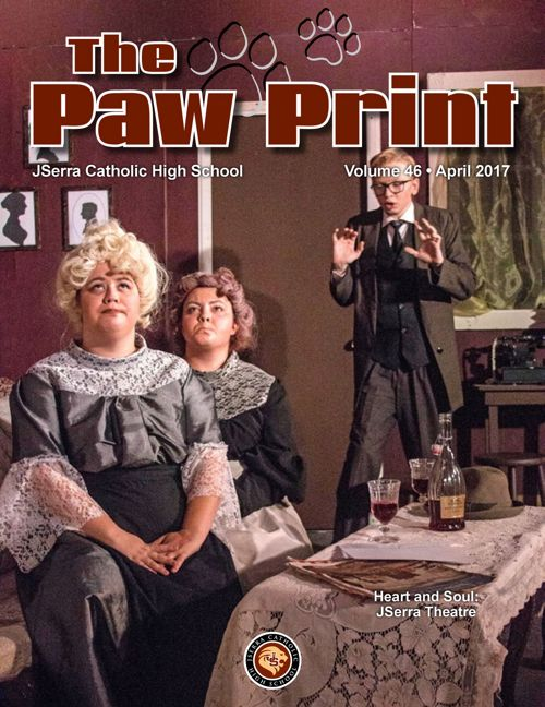 April 2017 Issue of the JSerra Paw Print