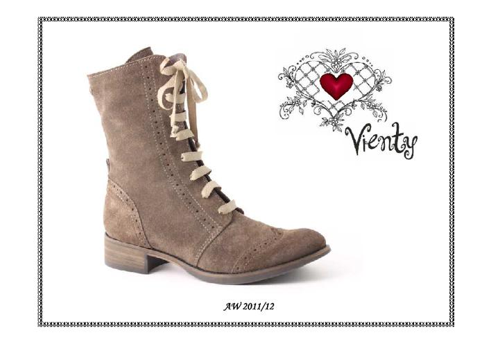 Colección de Calzado Invierno 2011 de Vienty