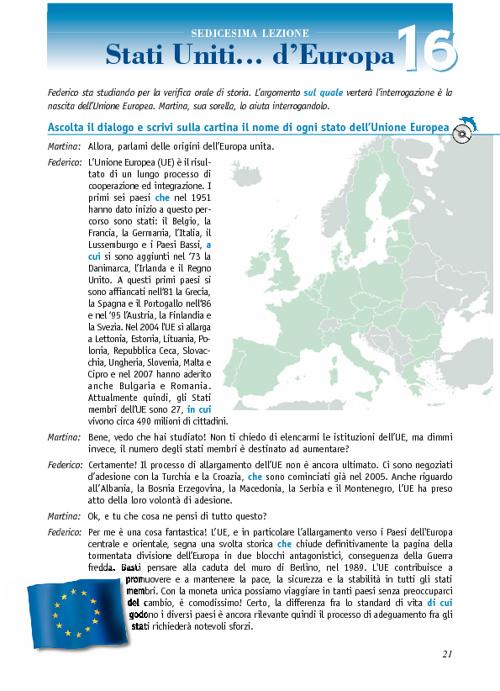 Un tuffo nell'azzurro/2 - Stati Uniti d'Europa