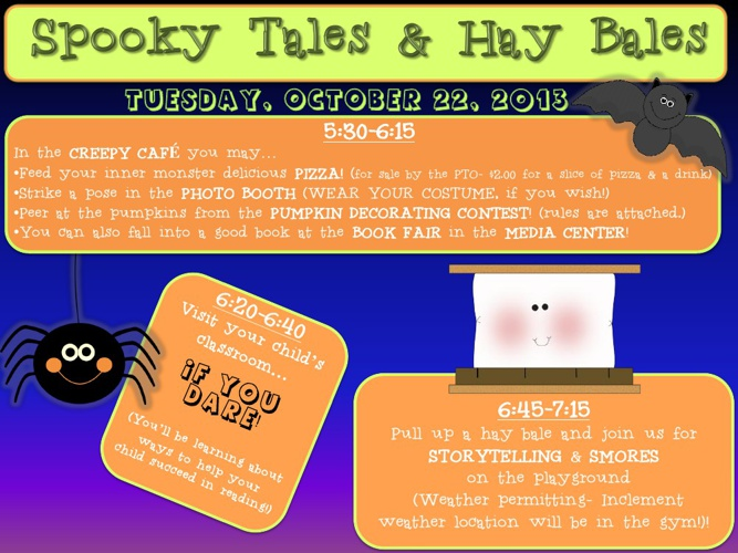 Spooky Tales and Hay Bales