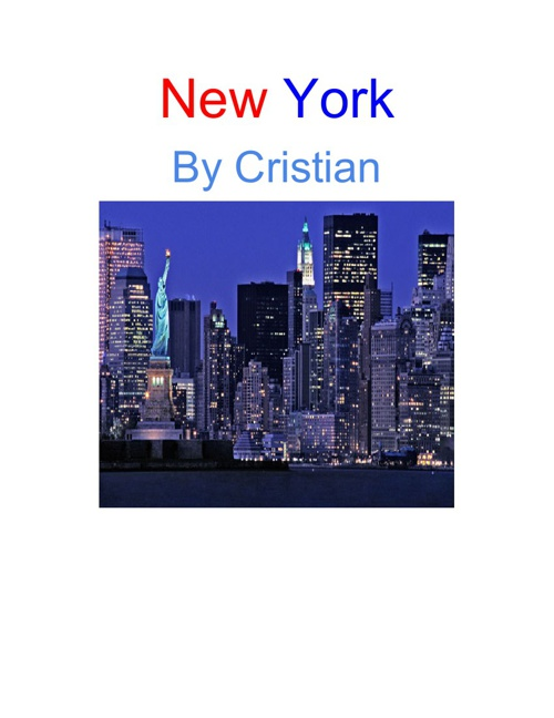 New York By: Cristian