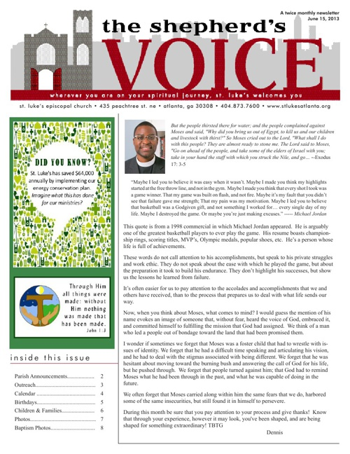 Shepherd's Voice June 15, 2013