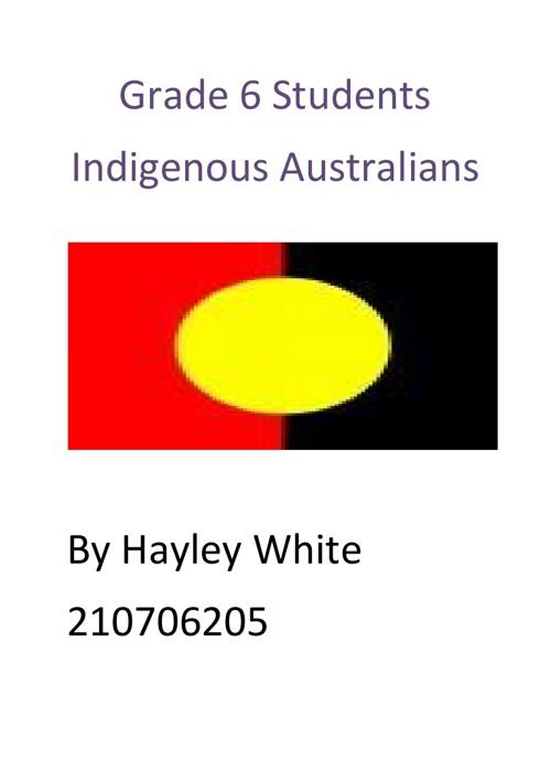 Copy of Indigenous Australians