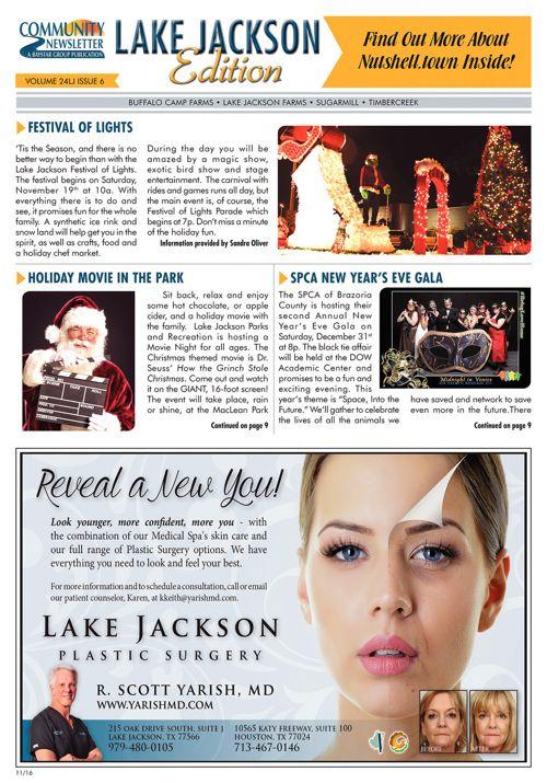 Lake Jackson Community Newsletter Volume 24 Issue 6