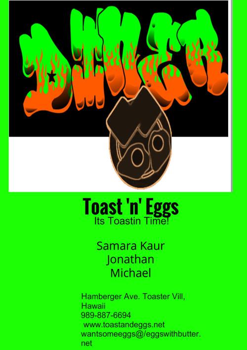 Eggs n toast diner fy 222 (1)