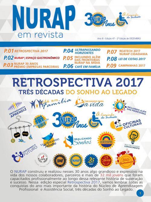 NURAP em Revista_Retrospectiva 2017