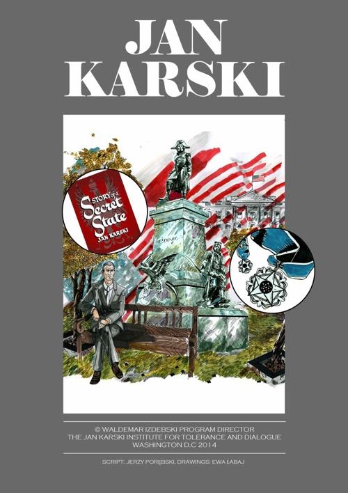 Jan Karski graphic novel english