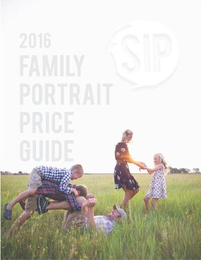2016 FAMILY PORTRAIT PRICE GUIDE