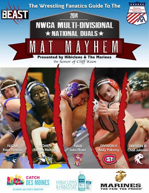 2014 NWCA Multi-Divisional | National Duals | Mat Mayhem