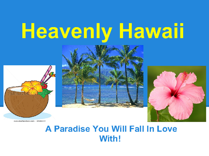 Heavenly Hawaii Brochure