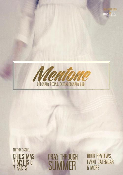 Mentone Baptist December Magazine