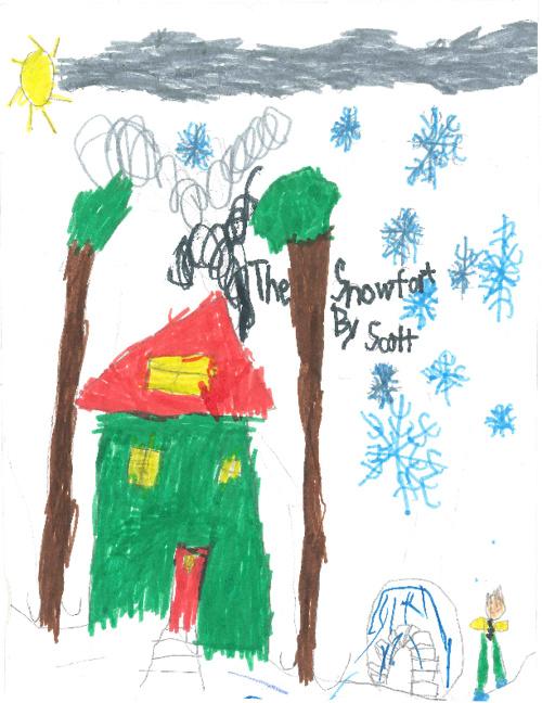 The Snowfort by Scott