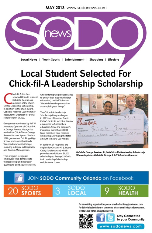 SODO News May 2013