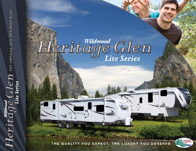 2012 Wildwood Heritage Glen by ForestRiver RV brochure