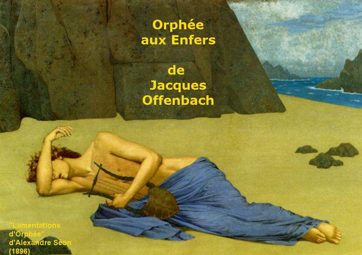 Orphée aux Enfers de Jacques Offenbach - Argument