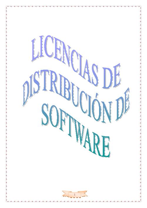 Licencias de distribución